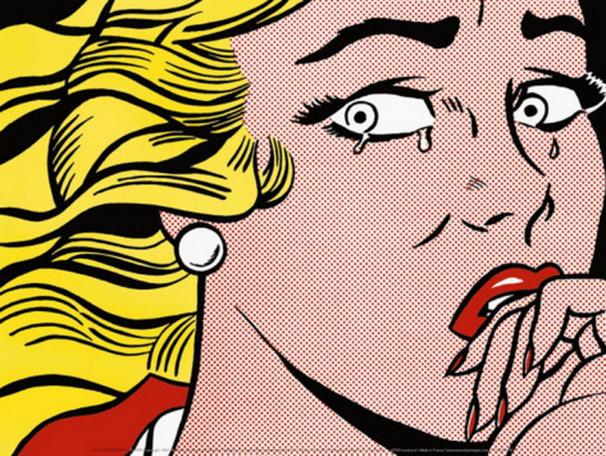 roy-lichtenstein-crying-girl-c-1963